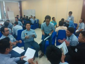 Training Bagi Para Group Leader PT Pamapersada Nusantara