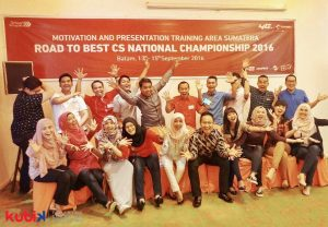 Motivation and Presentation Training Telkomsel Area Sumatera