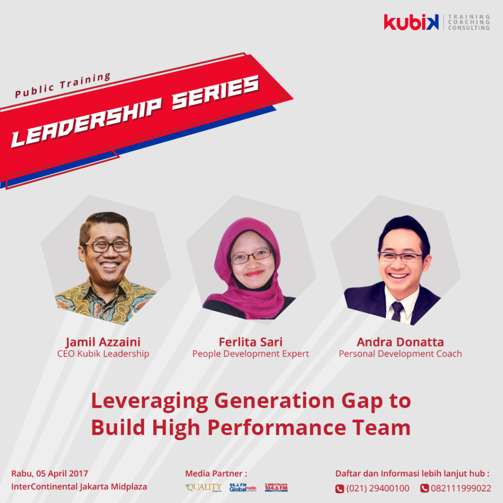 Pembicara Public Training Leadership Series