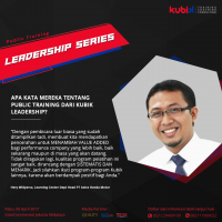 Testimoni public training Kubik Leadership 2