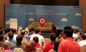 Spiritual Leadership dalam Training di Telkomsel