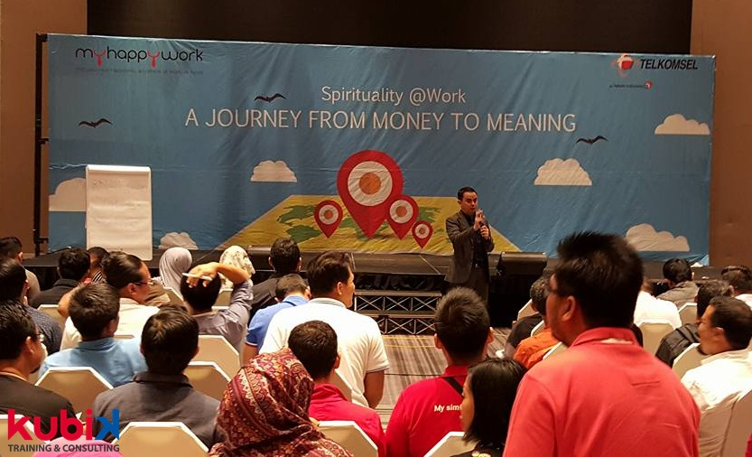 Spiritual Leadership dalam Training di Telkomsel
