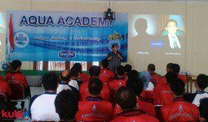 SuksesMulia Inspirational Seminar di PT. Tirta Investama (Aqua Danone)