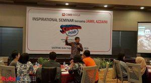 SuksesMulia Inspirational Seminar di CIMB Niaga
