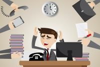 Banyak Leader Stress