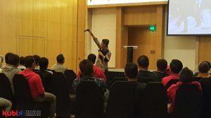 Seminar dan Team Building Program di Telkom Group