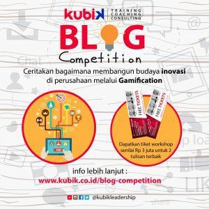 Kubik Leadership Blog Competition