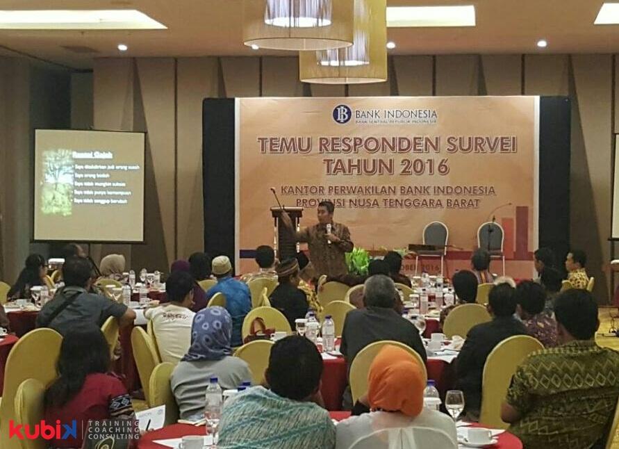 Seminar Motivasi di Bank Indonesia