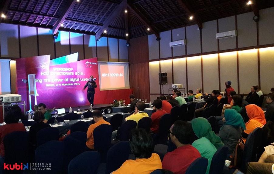 Seminar Motivasi di Telkomsel