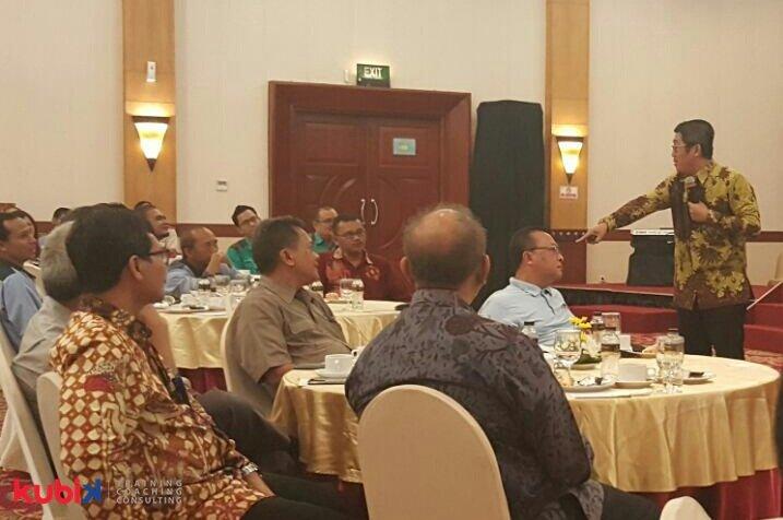 Seminar Motivasi di PT Krakatau Tirta Industri