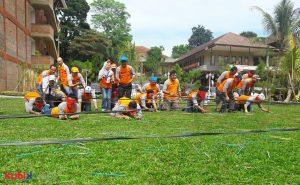Team Building Program di PT Taikisha Indonesia Engineering