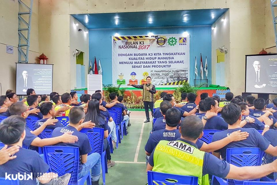 Seminar Spiritual Leadership di PT Pamapersada Nusantara