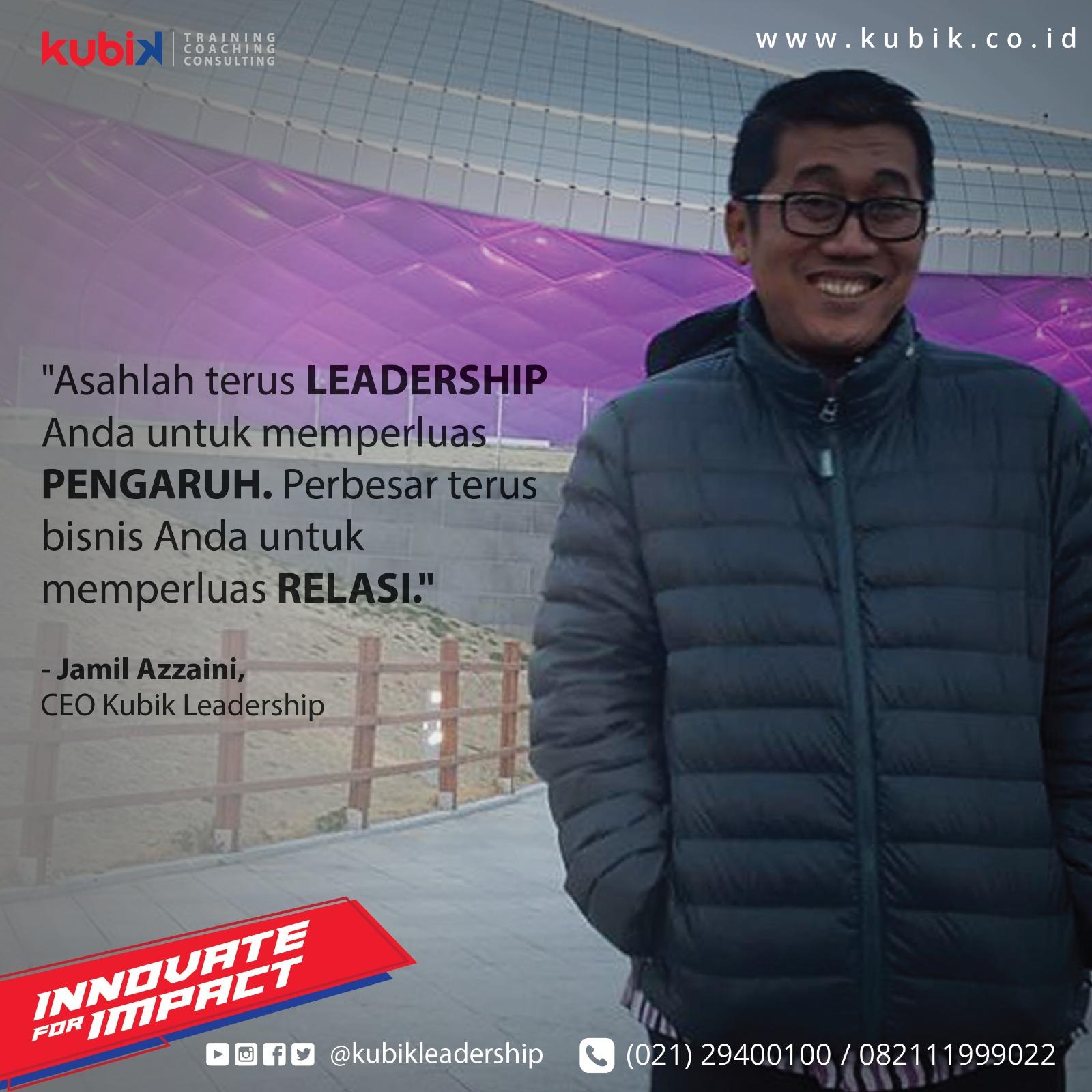 Jadilah Pemimpin Yang Berpengaruh