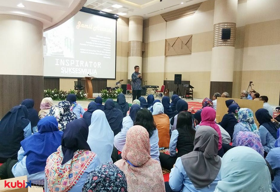Seminar Motivasi di Kantor Pajak Wajib Pajak Besar