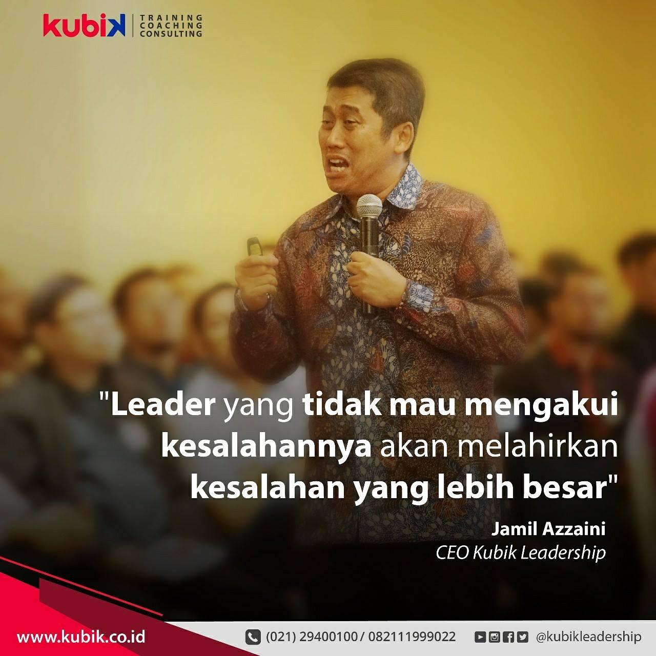 Kesalahan Seorang Leader
