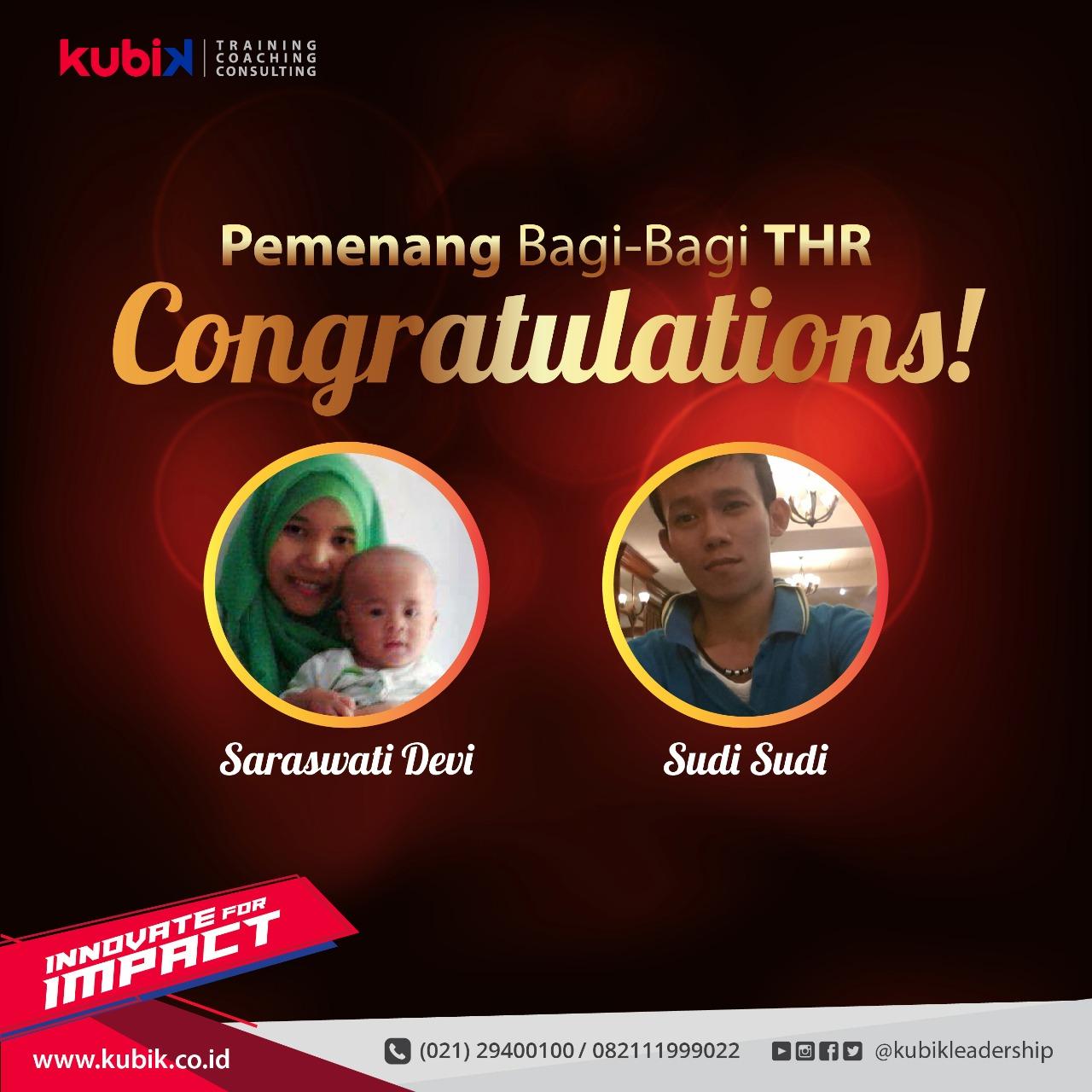 Pemenang Kuis Bagi-Bagi THR