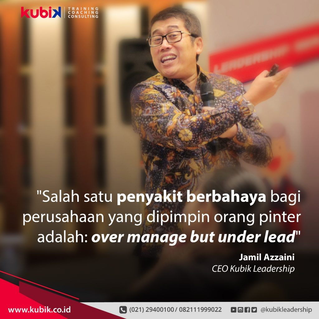 Over Manage But Under Lead