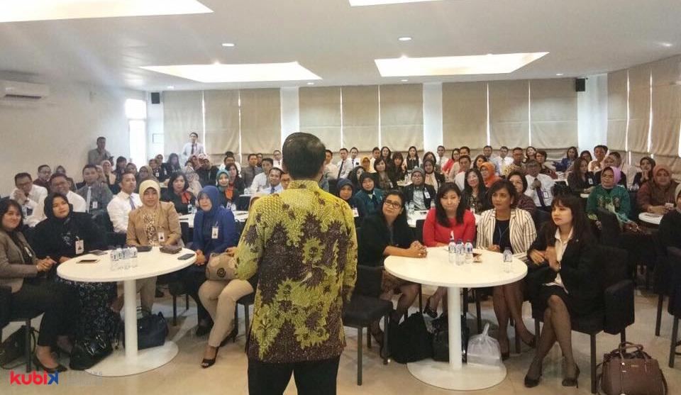 Seminar Motivasi di PT Bank Negara Indonesia (BNI)