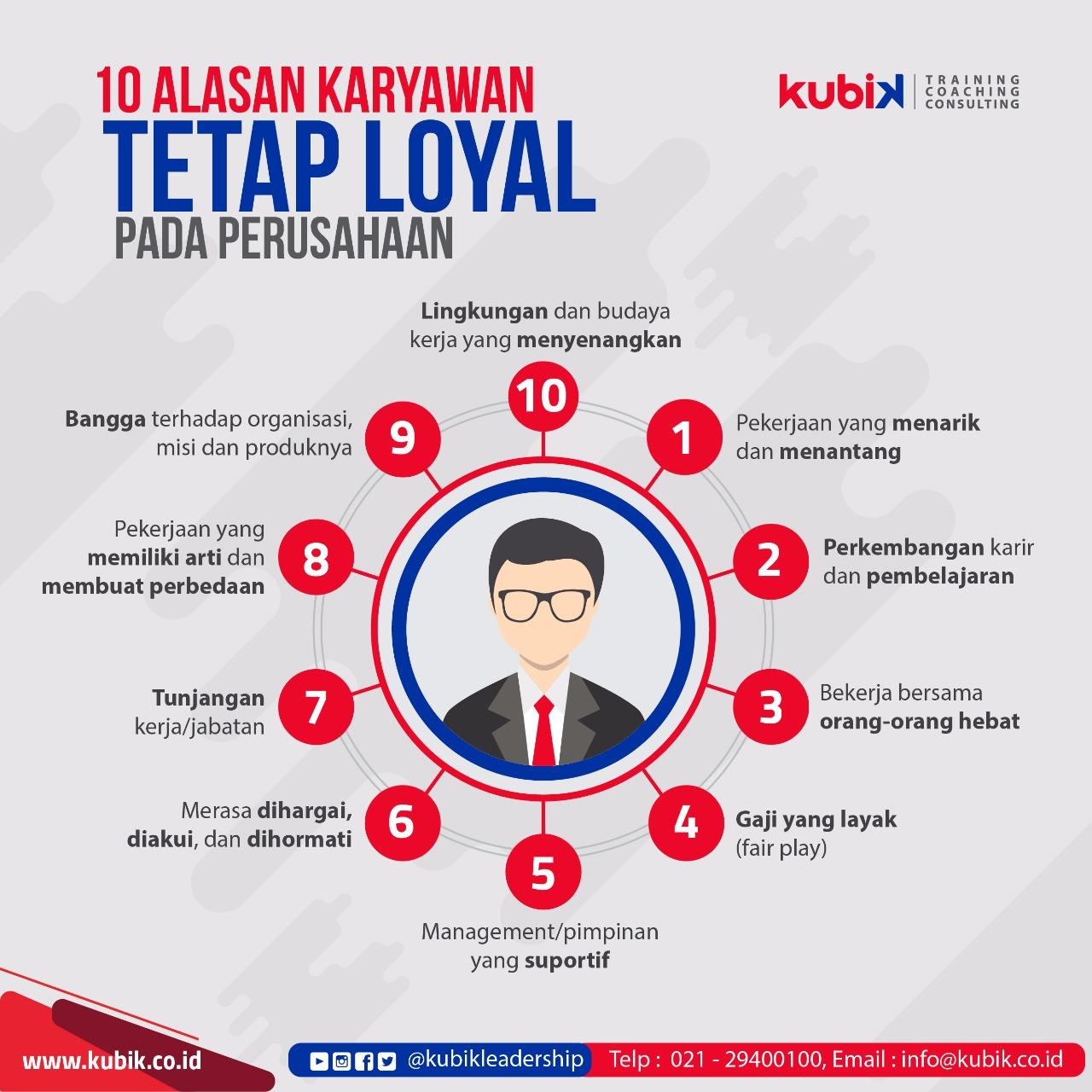 10 Alasan Karyawan Tetap Loyal Pada Perusahaan