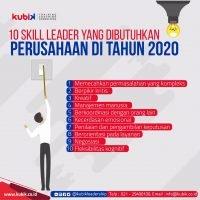 10 Skill Leader Yang Dibutuhkan Perusahaan Di Tahun 2020