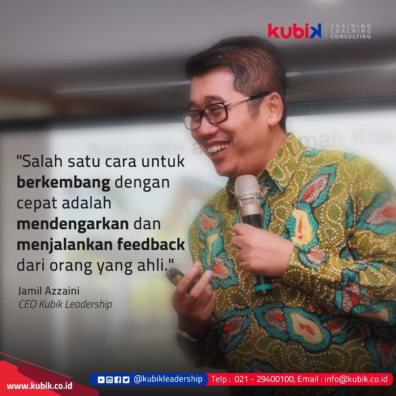 Mendengarkan dan Menjalankan Feedback