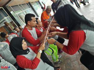 Seminar dan Team Building di KPUD Riau