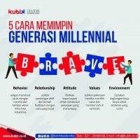 5 Cara Memimpin Generasi Millennial