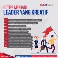 10 Tips Menjadi Leader Yang Kreatif