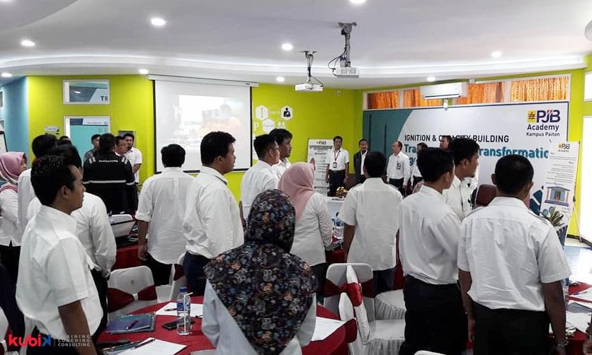 Pelatihan Transformation Agent For The Transformers di PT Pembangkit Jawa-Bali