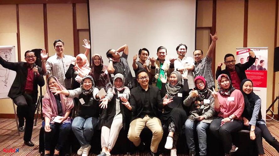 Communication Skill Training di PT GMF Aero Asia