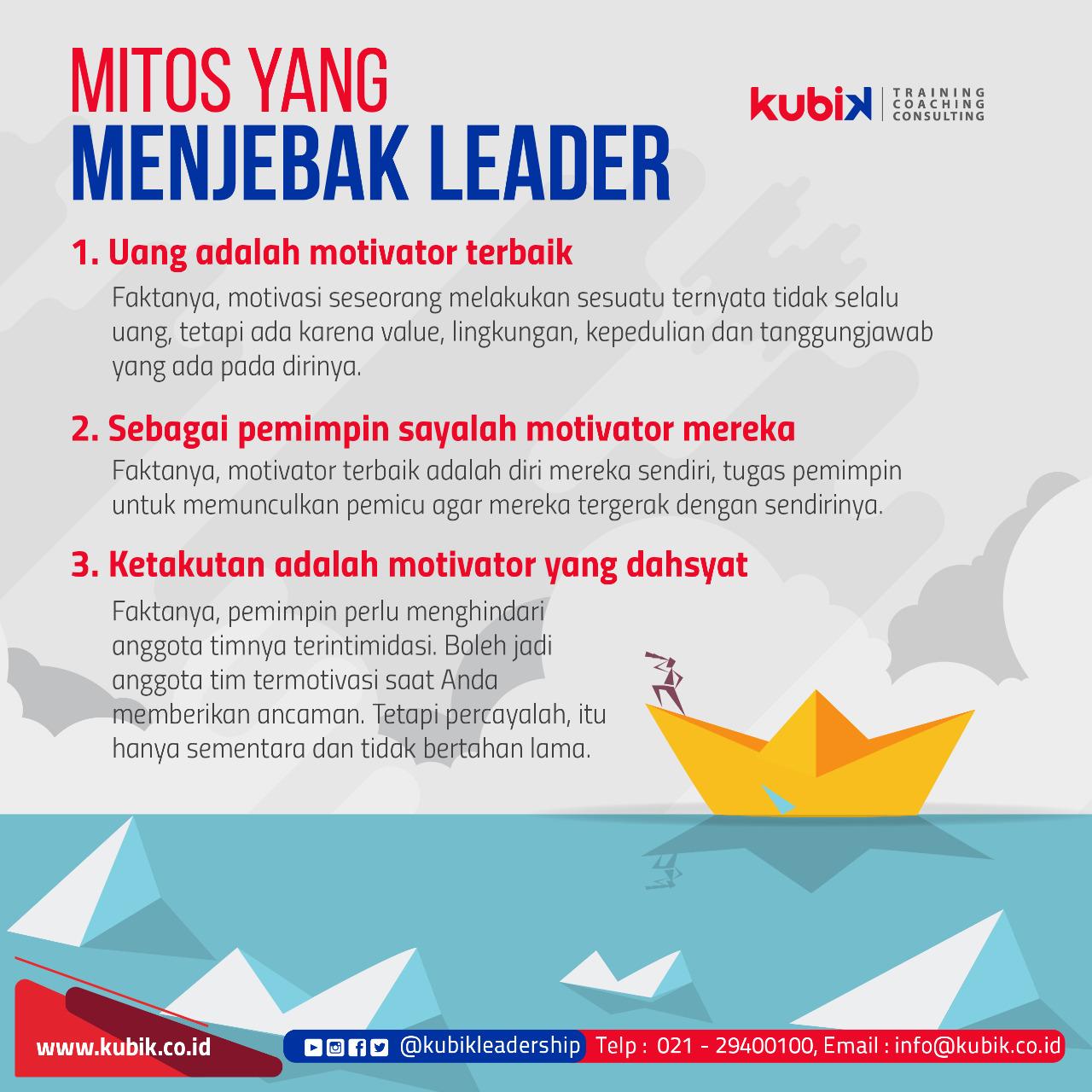 Mitos Yang Menjebak Leader