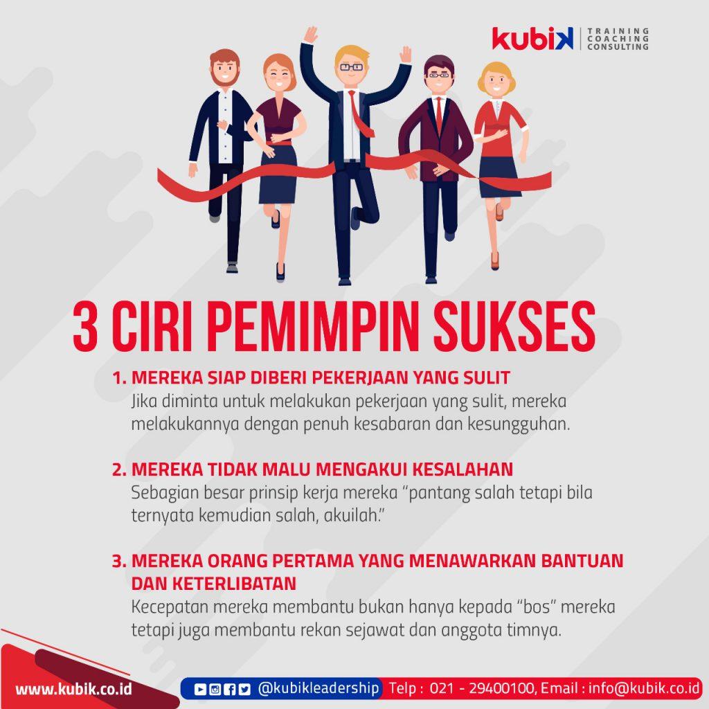 3 Ciri Pemimpin Sukses